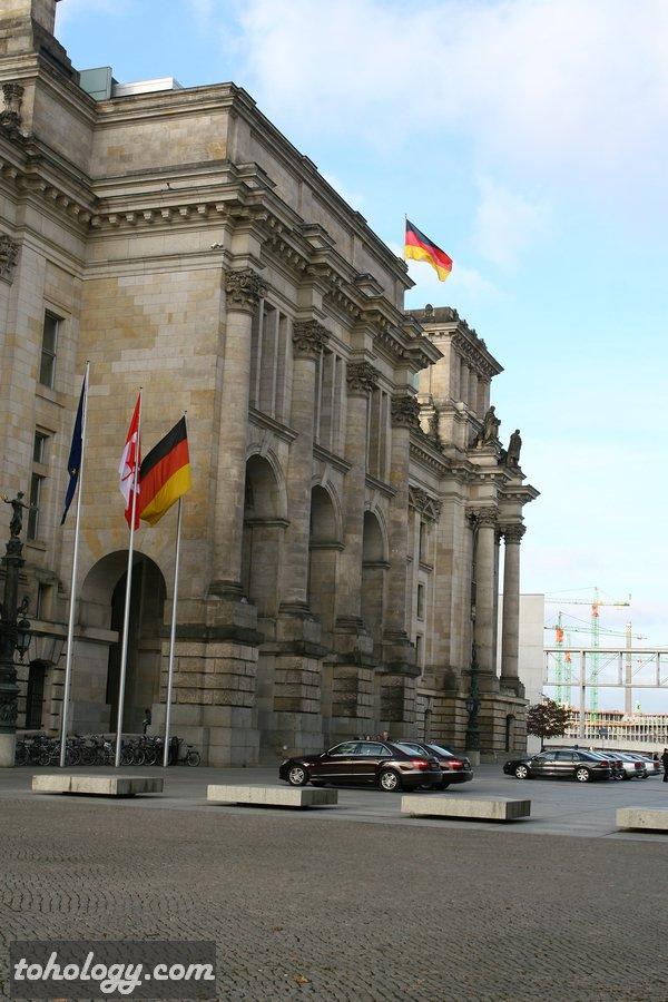 The Reichstag Building / Здание Рейхстага