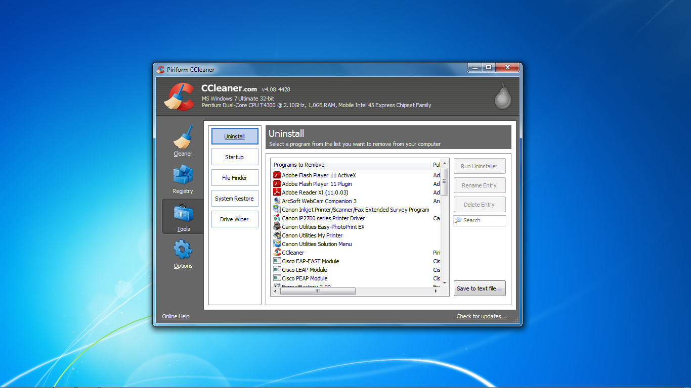 CCleaner-Tools
