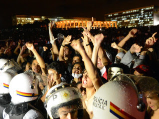 Brazil's Protesters Take To The Streets Again