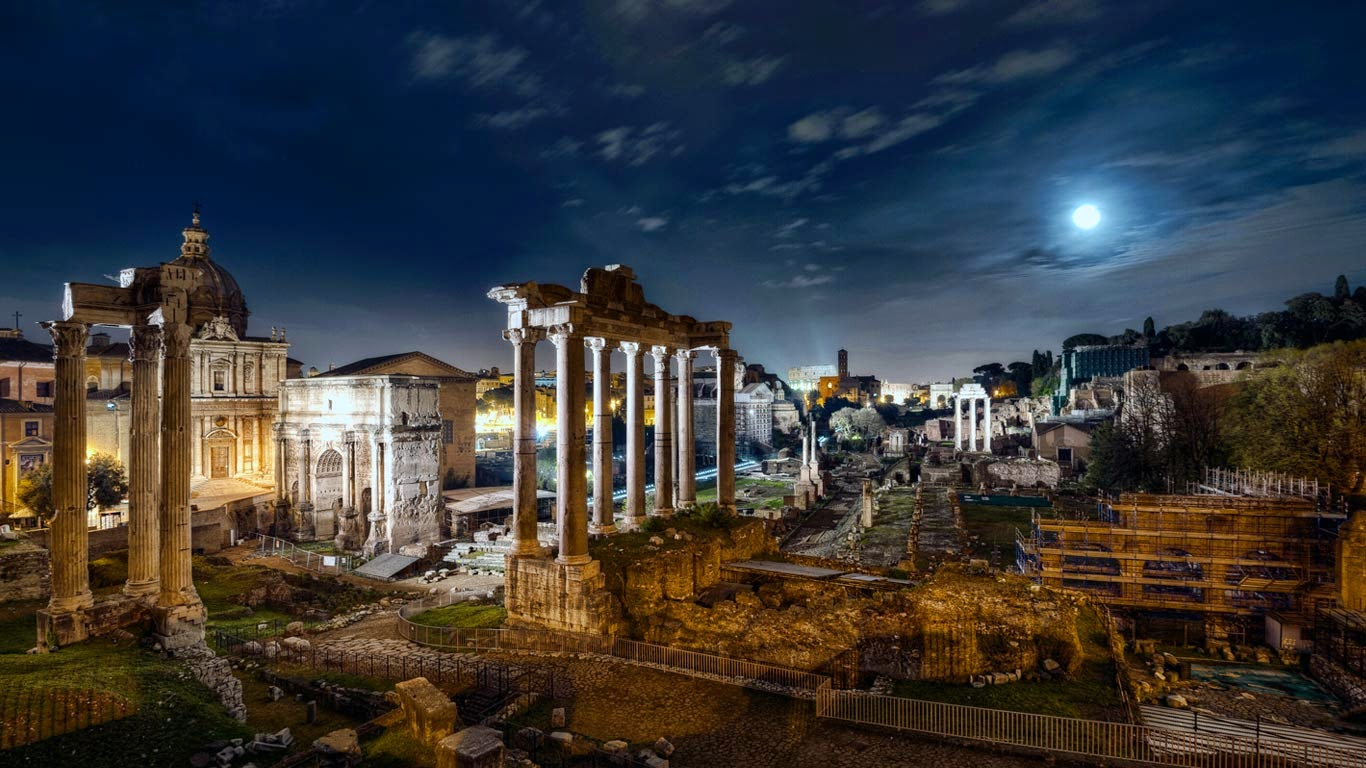 Roman Forum, Rome, Italy (© Marco Romani/Getty Images) 478