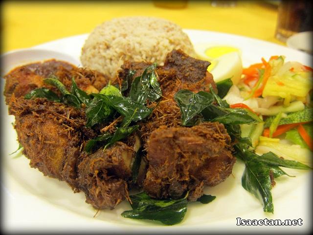 #6 Nasi Dagang Ayam Goreng - RM12