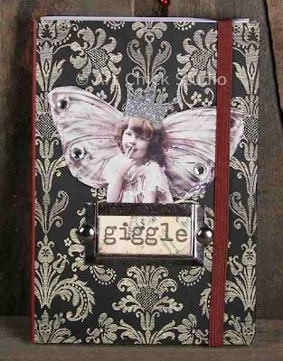 Giggle Fairy Altered Art Journal
