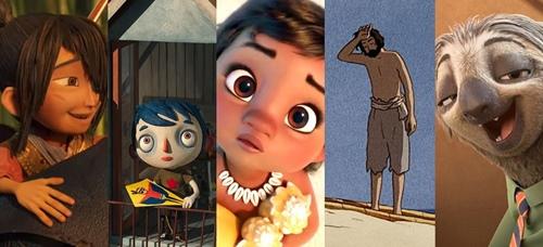 Conheça as animações indicadas ao Oscar 2017