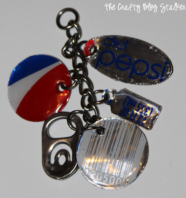 aluminum can crafts cute keychains