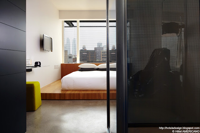 Les plus beaux hotels design du monde h tel americano by for Hotel americano new york