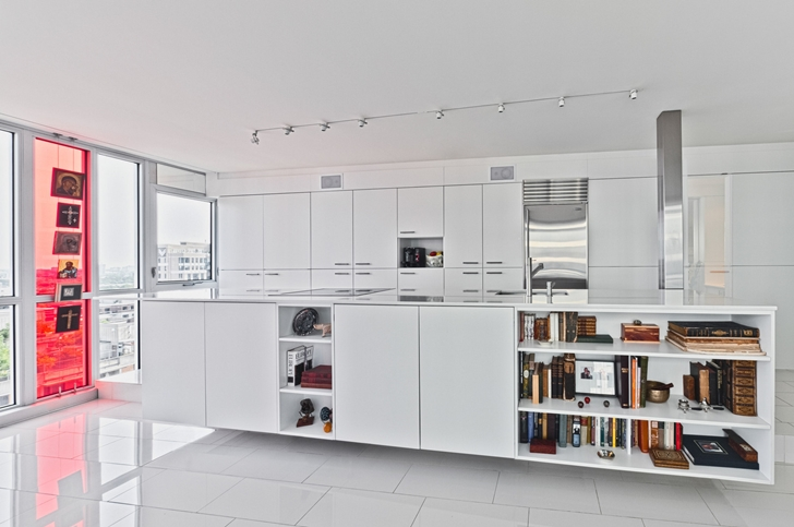 Kitchen furniture in Modern apartment in Ottawa