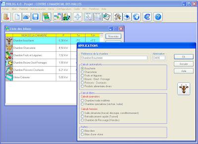 Calcul chambre froide logiciel