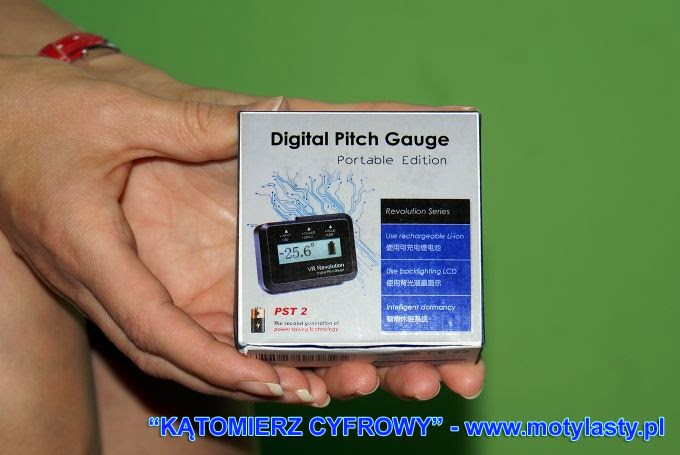 Kątomierz modelarski cyfrowy DIY  Digital Pitch Gauge