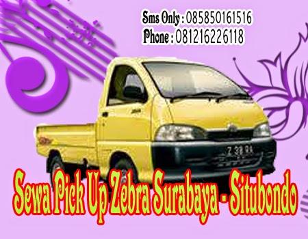 Sewa Pick Up Zebra Surabaya - Situbondo