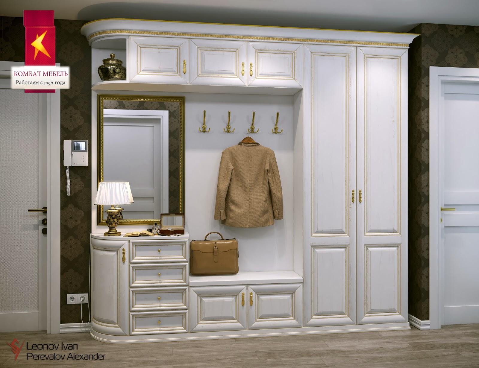 Мебель классика, популярные варианты и особенности материало.