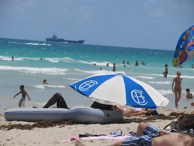 Miami Beach, cool scenery,beach scenery