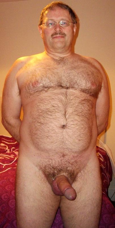Fat men penis