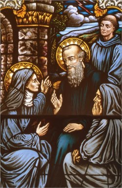 St. Benedict of Nursia