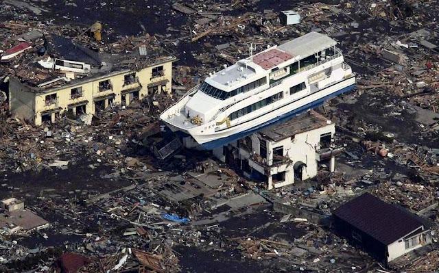 日本311大地震海嘯