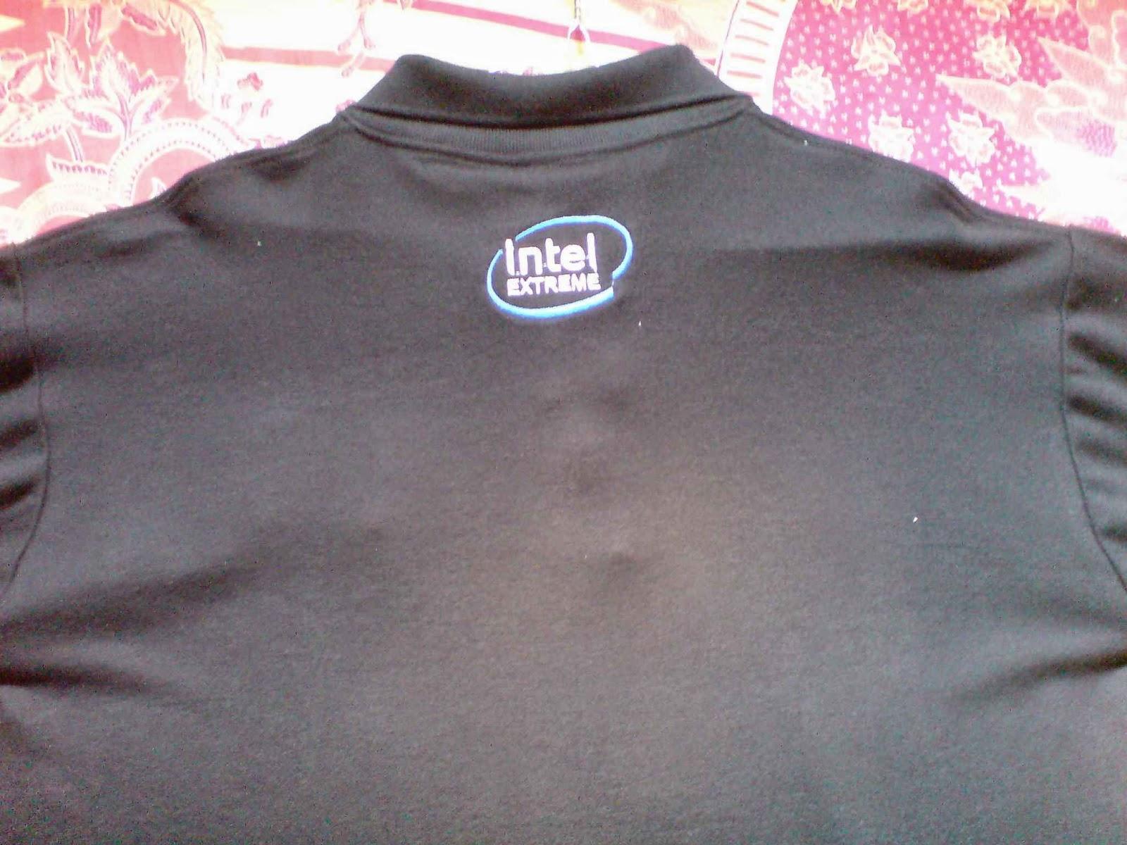 Jual Kaos Polo Logo Intel Extreme Kualitas Distro