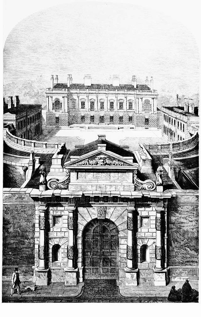 Burlington House in 1854