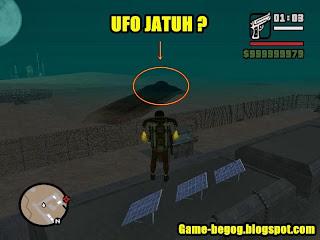 Misteri GTA San Andreas UFO
