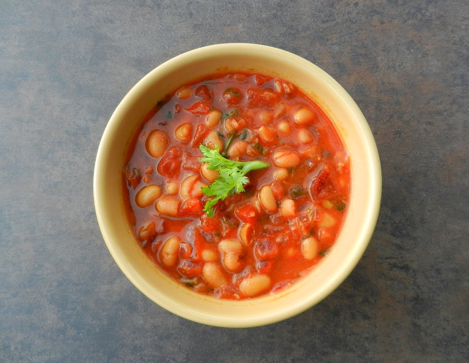 how to cook canned navy beans