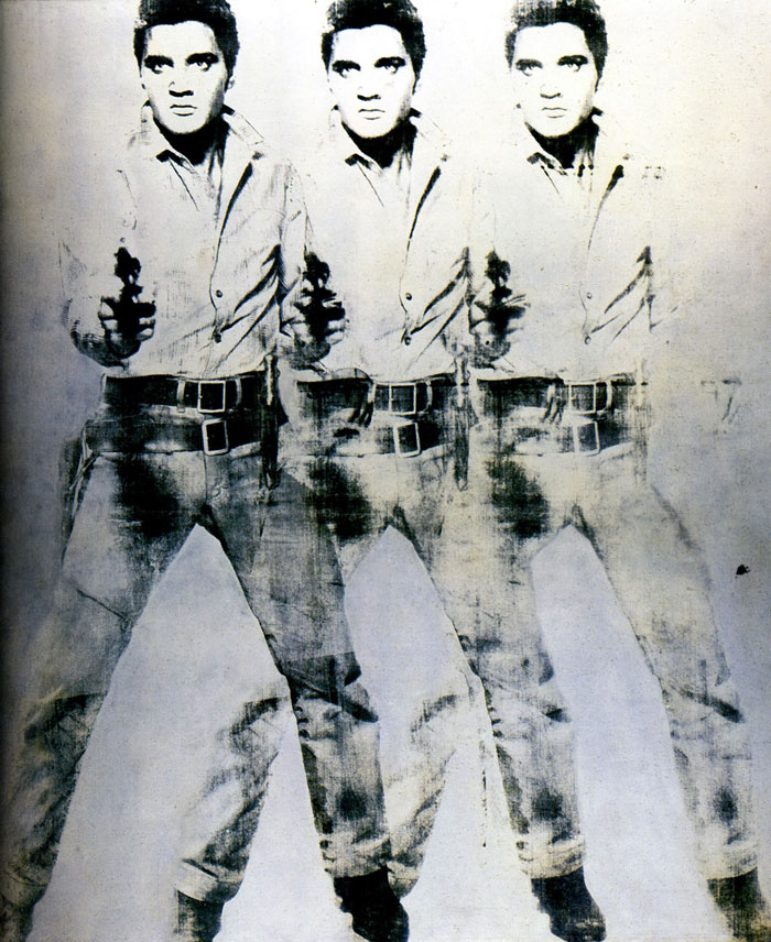 Andy Warhol's Triple Elvis Circa 1963
