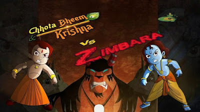 Chhota Bheem & Krishna Vs Zimbara 2015 DVDRip Hindi Eng 200mb