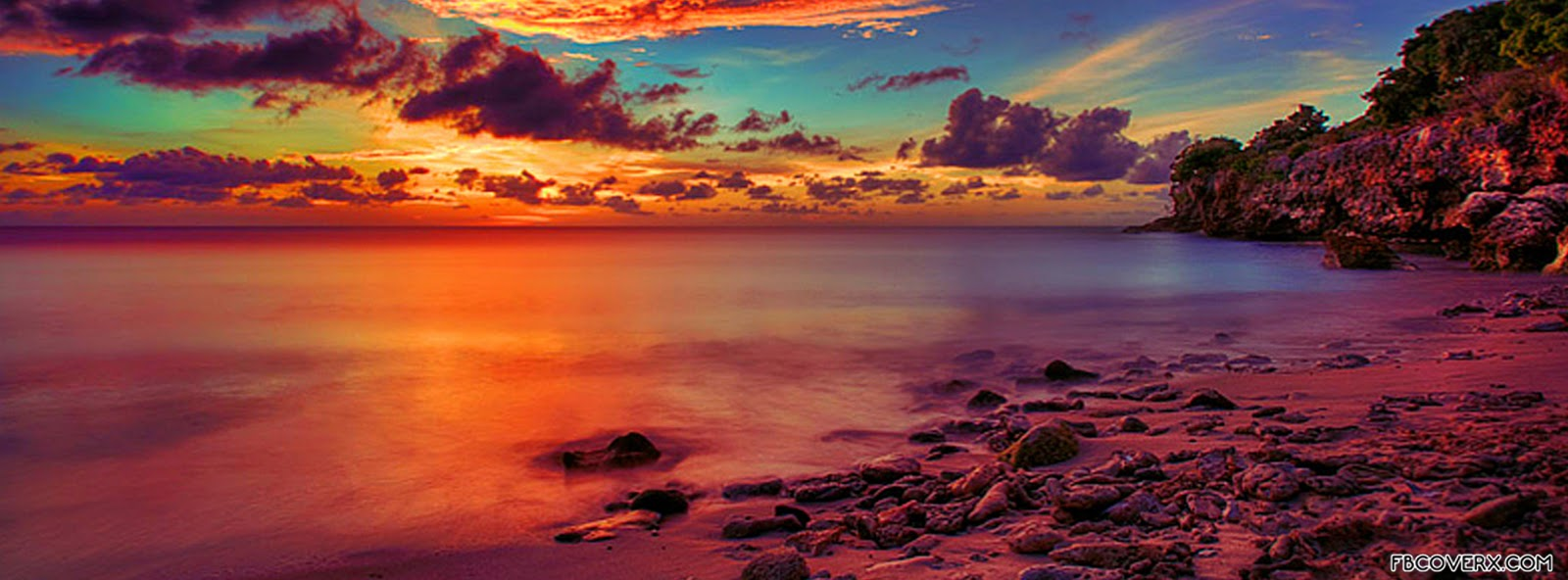 Sunset Facebook Cover