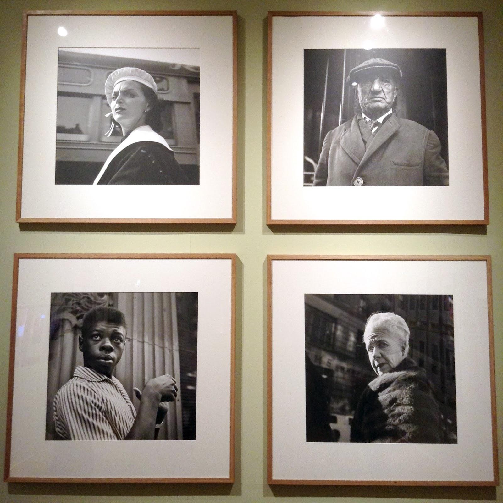 Vivian Maier: four portraits