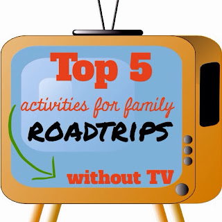 Top 5 activities for family roadtrips without tv
