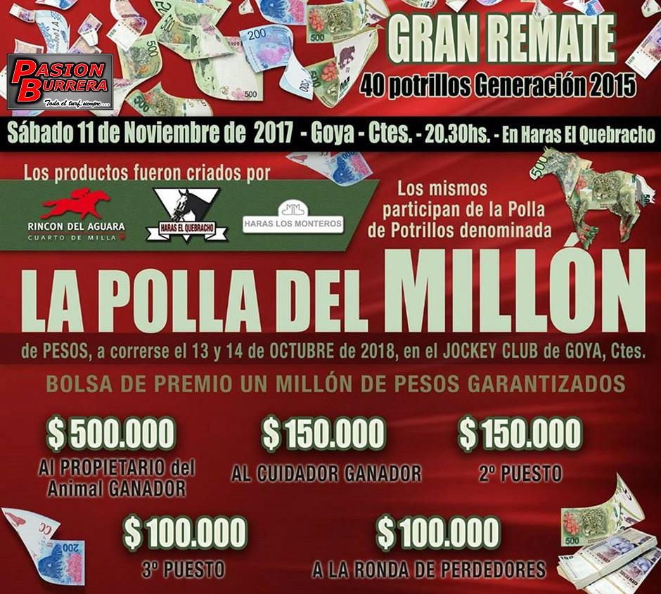POLLA MILLON RDA - LM - GOYA - NOVIEMBRE 2017