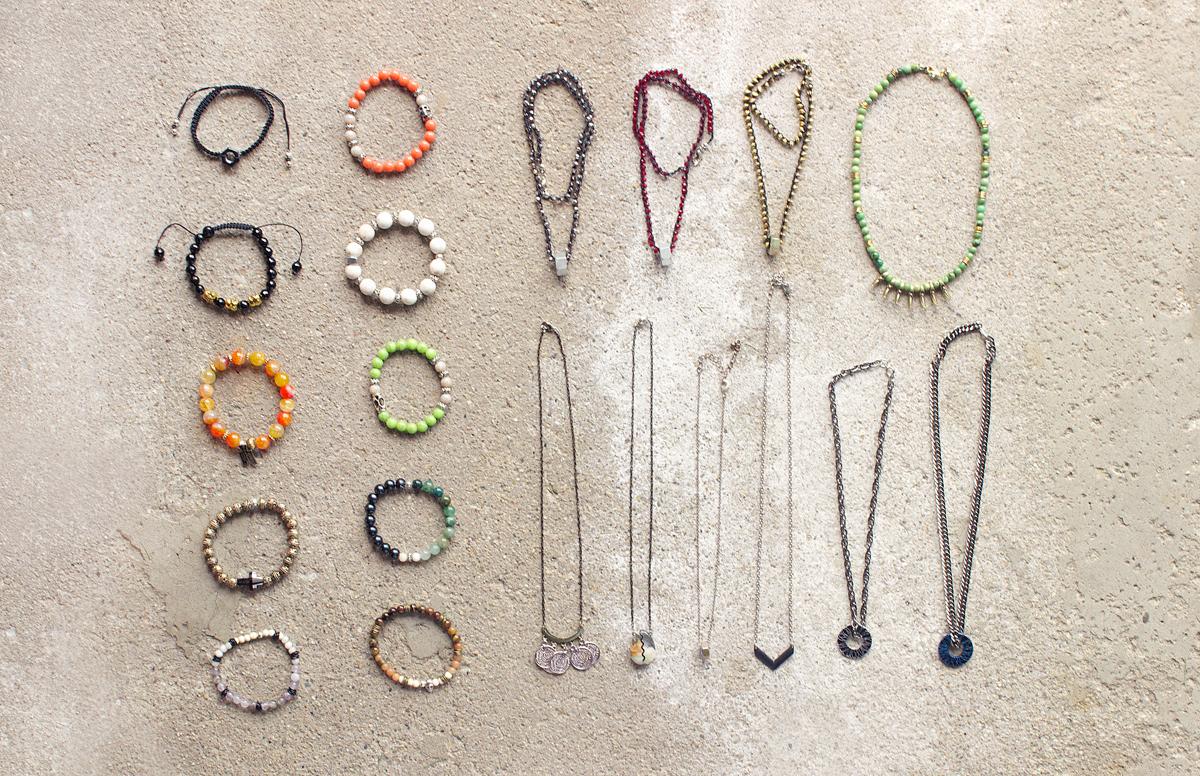 bohemian men's bracelets by Quiet Lion Creations