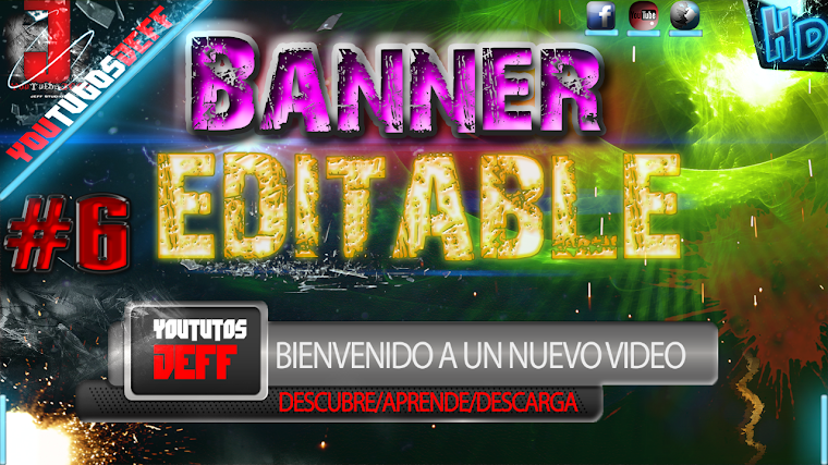 BANNER EDITABLE #6 CON AFTER EFFECTS CS6 | 2015