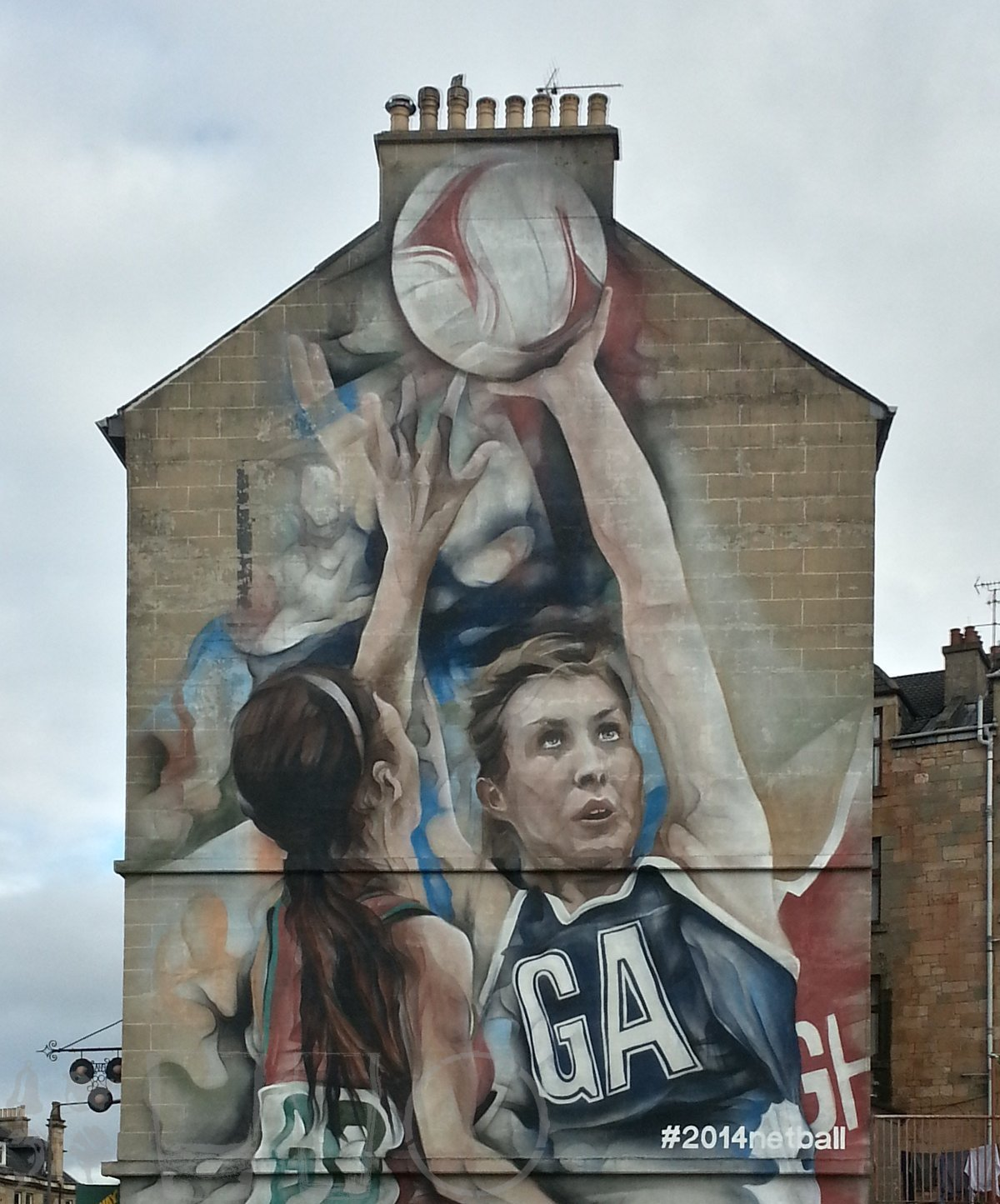 #2014netball, Commonwealth Game, Partick, Glasgow