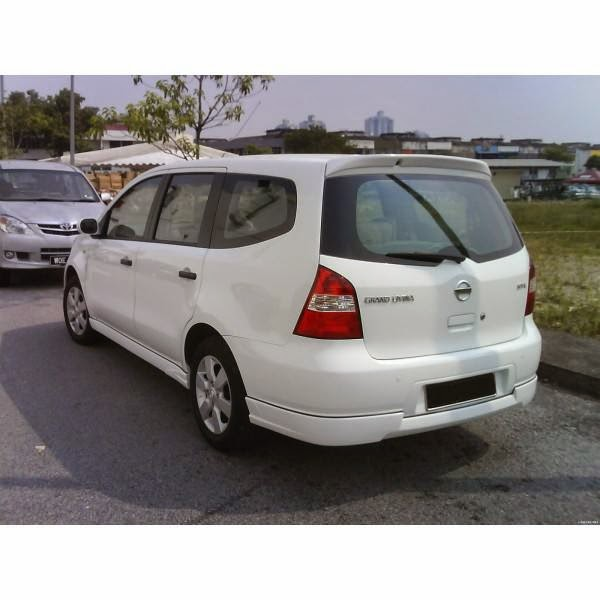 add on Nissan Grand Livina Limited Edition 06-12