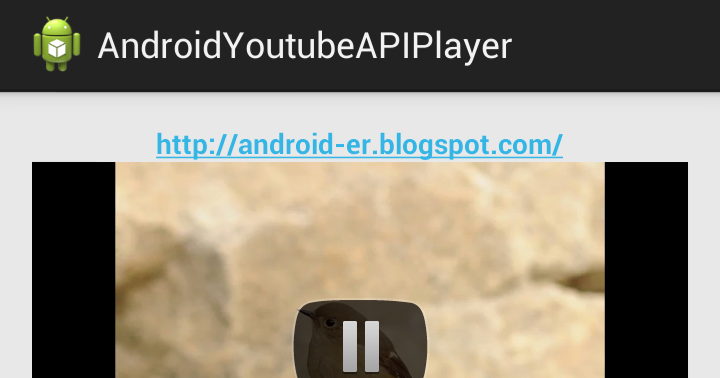 Android er handle player state changes and playback events by implementing - Er finestra android ...