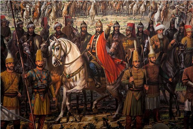 Ilustrasi Sultan Muhammad Al Fatih, pemimpin Turki Utsmani