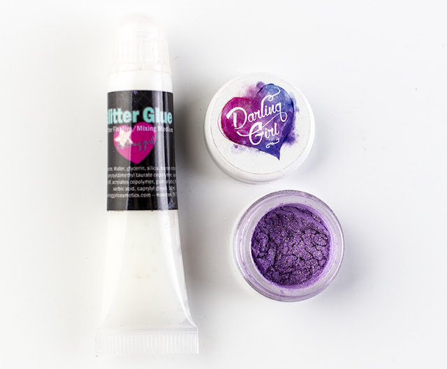 Darling Girl Cosmetics Glitter Glue and Persuasion Diamond Dust