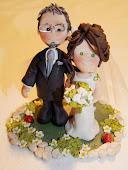 Questa la sua creazione per il Cicci's Wedding: