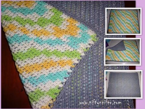 Niftynnifers Crochet Crafts Free Crochet Pattern Reversible