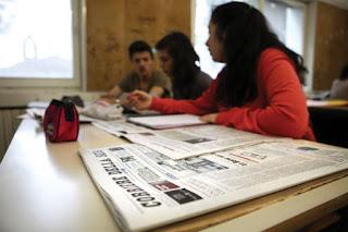 I giovani e la lettura dei giornali