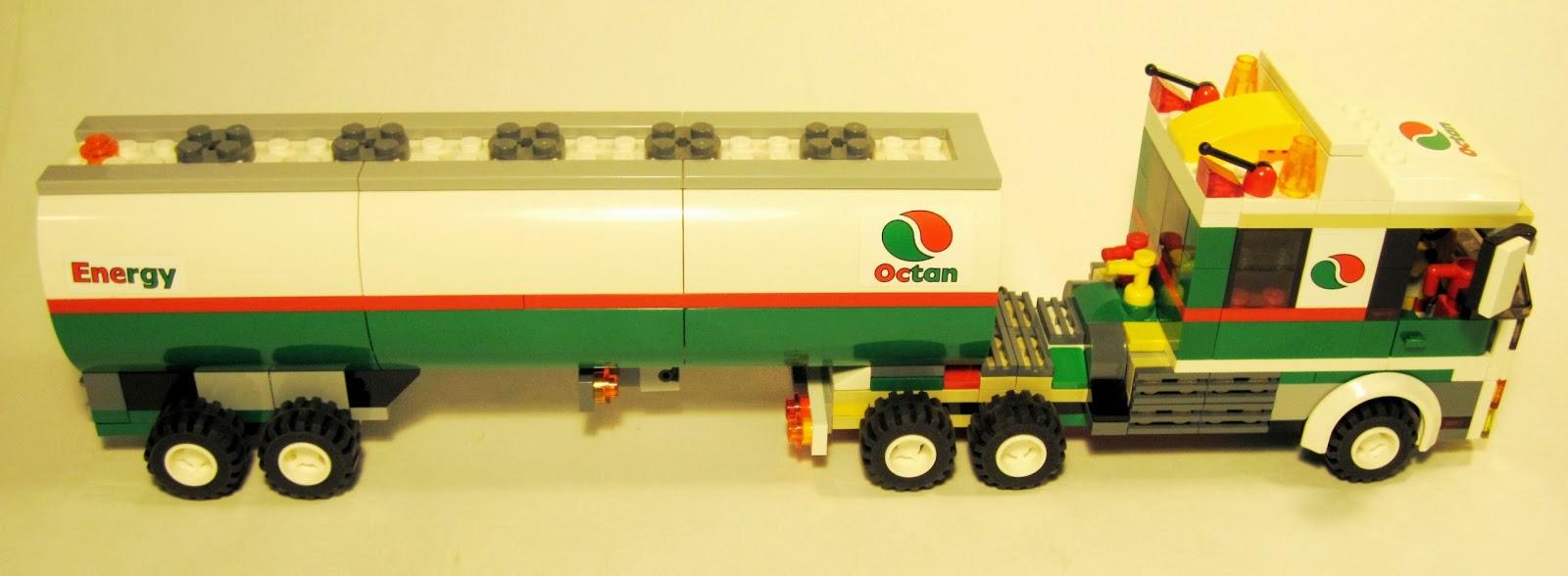 Lego Tractor Trailer : Brickcreator lego octan semi tractor trailer