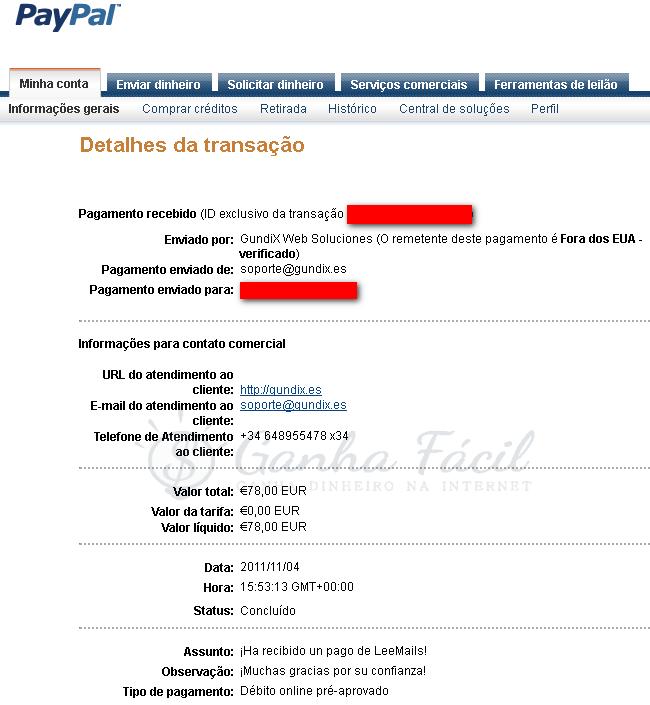 leemails logo banner pagamento leemails.com dinheiro ptc ptr euro paga ganha ganhar paypal clicks