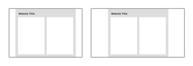 Site-ul web: stii ce layout sa alegi?