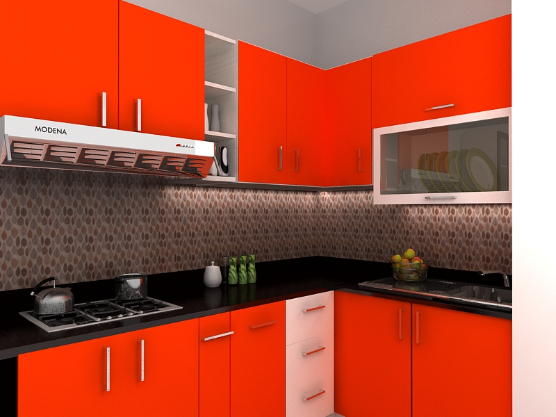 Desain kitchen set murah di surabaya for Kitchen set di surabaya