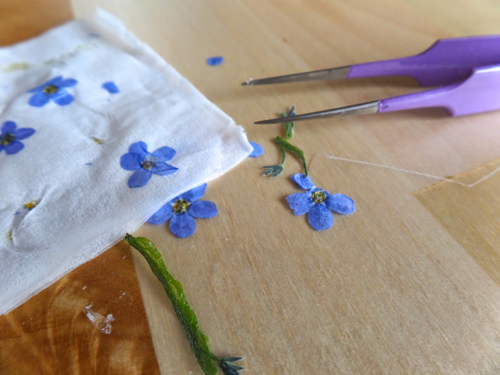 forget me knot crafts