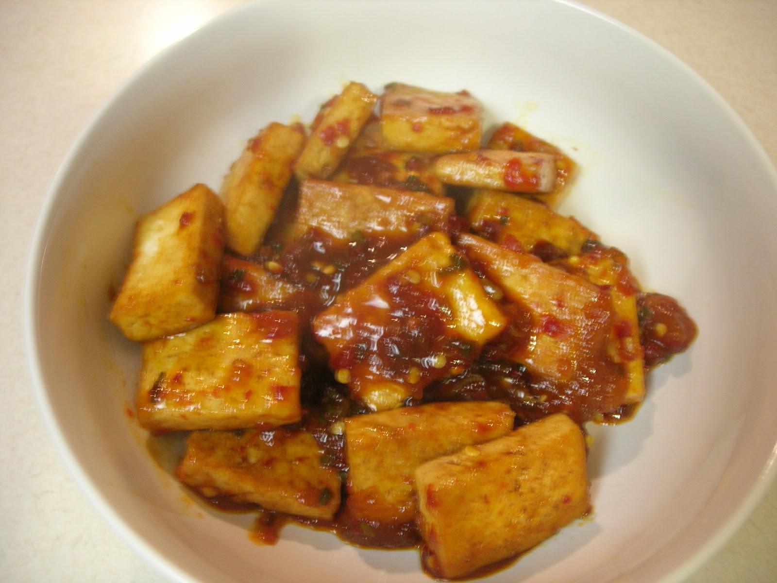 Vital Vegan: Spicy Fried Tofu