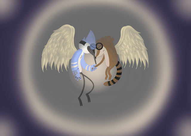Regular Show: Angels -SP- 2 por rainbow-veins-8D