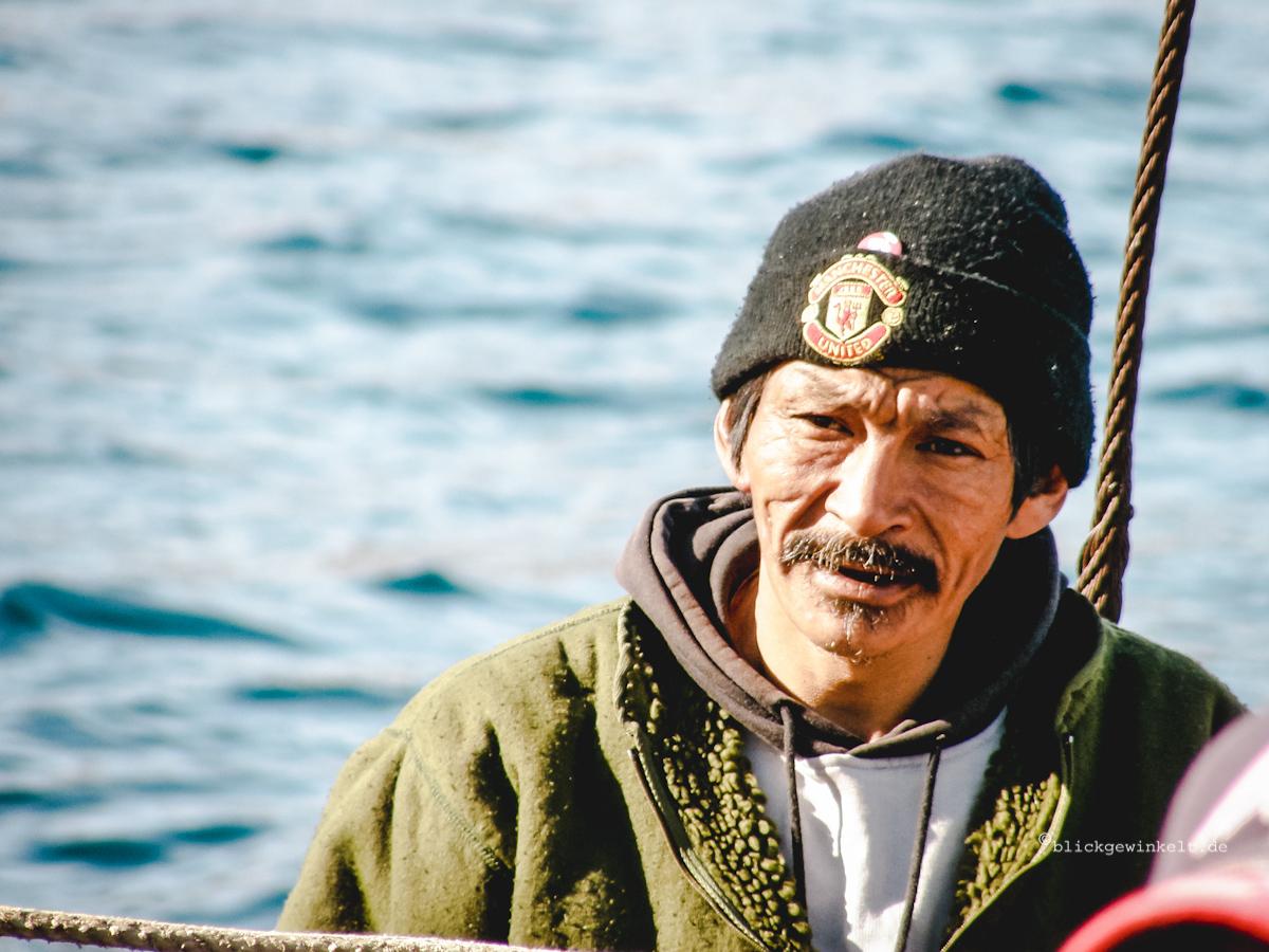 Grönländischer Fischer