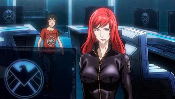 Viuda Negra en Avengers Confidential (Los Vengadores: Justicia y Venganza)