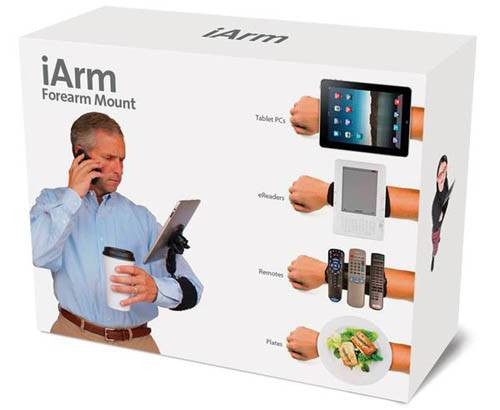 Commander le iArm