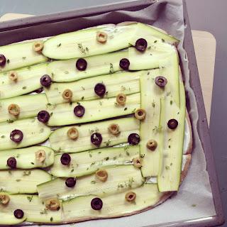 losanges courgettes olives