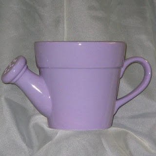 Lavender Ceramic Watering Can
